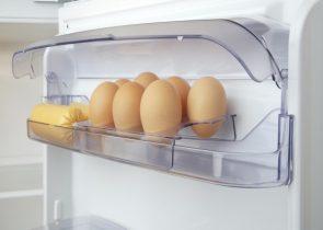 bảo quản trứng trong tủ lạnh